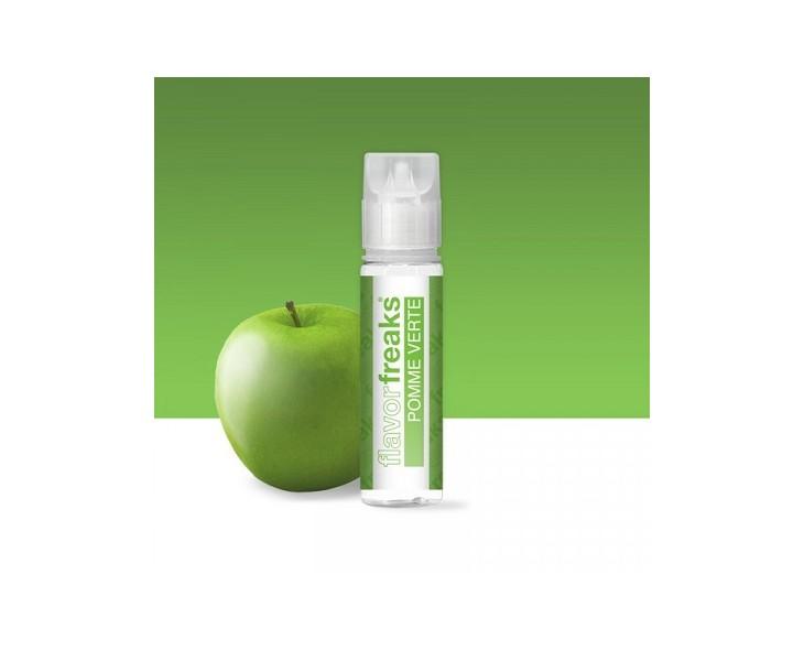E-Liquide Pomme Verte Flavor Freaks 50 Ml | Création Vap