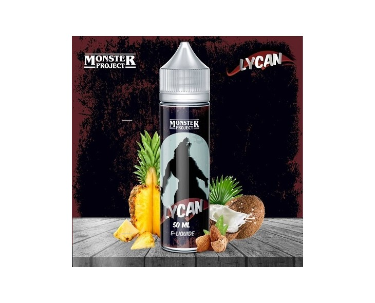 E-Liquide Lycan Monster Freaks 50 Ml | Création Vap