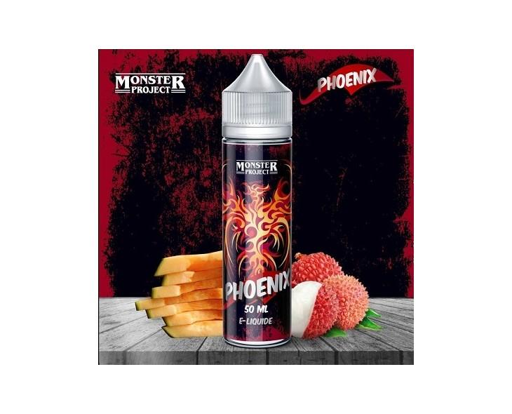 E-Liquide Phoenix Monster Freaks 50 Ml | Création Vap