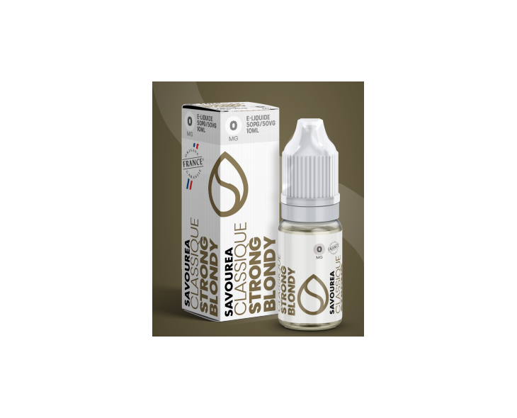 E-Liquide Strong Blondy Savourea | Création Vap