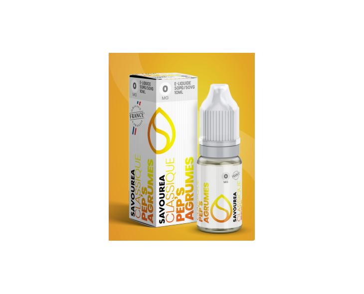 E-Liquide Pep'S Agrumes Savourea | Création Vap