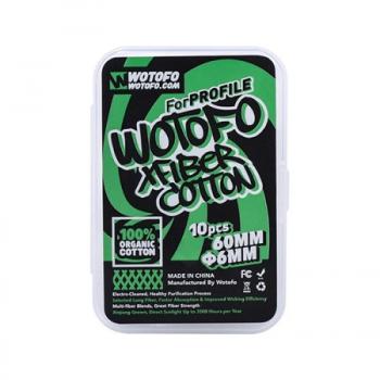 Coton X Fiber Profile Wotofo | Création Vap