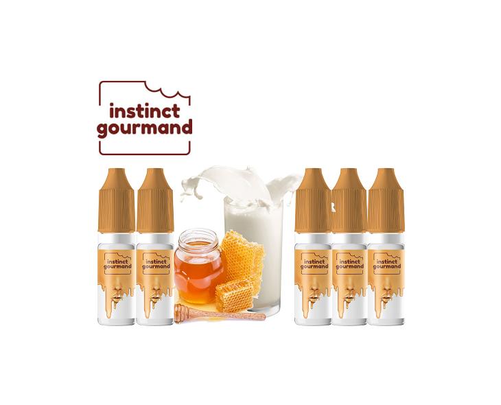 Pack Covid E-Liquide Honey & Milk Instinct Gourmand Alfaliquid | Création Vap