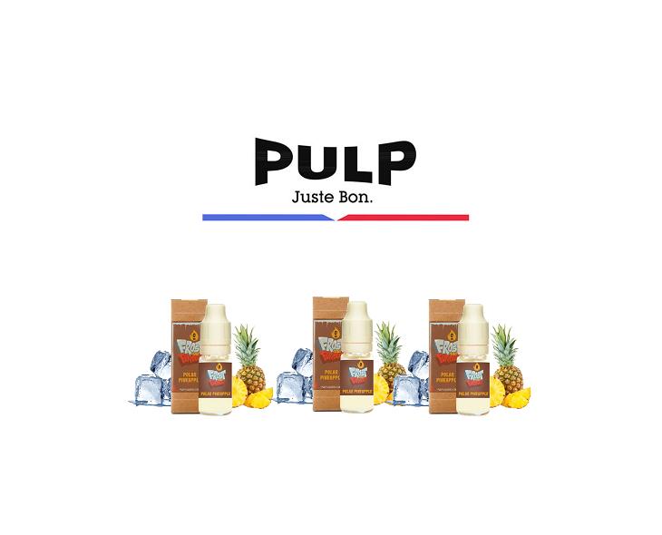 Pack Covid E-Liquide Polar Pineapple Pulp   Création Vap