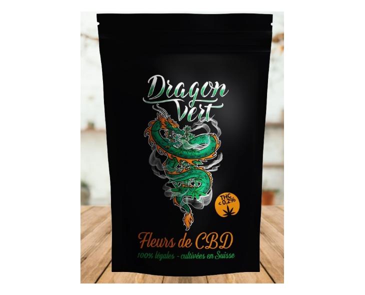 Fleur De Cbd Amnesia Dragon Vert | Création Vap