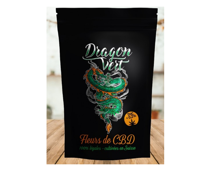 Fleur De CBD Vanilla Kush Dragon Vert   Création Vap