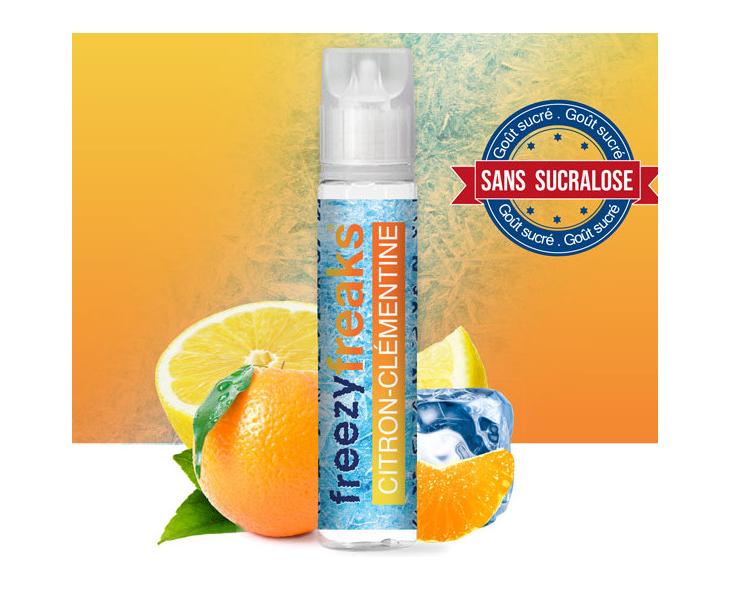 E-Liquide Citron Clémentine Freezy Freaks 50 Ml | Création Vap