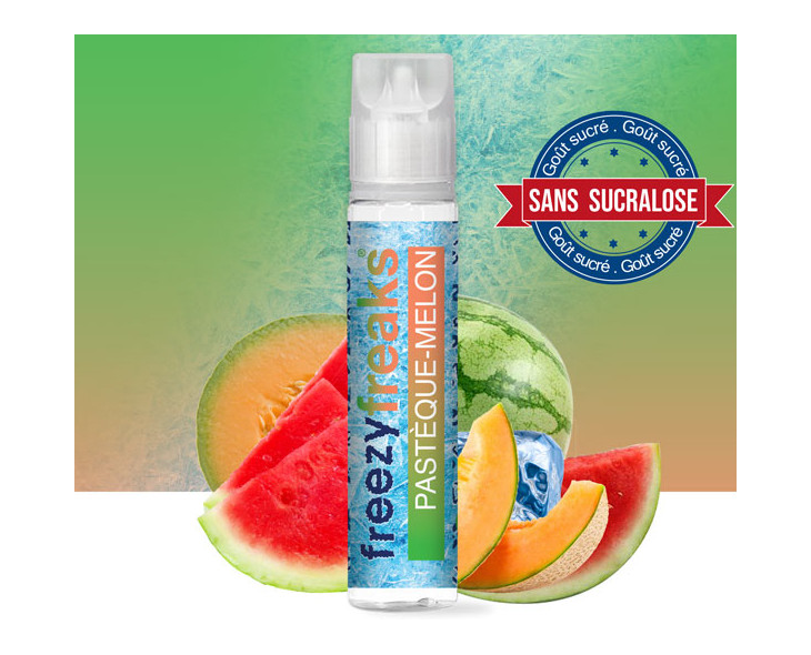 E-Liquide Pastèque Melon Freezy Freaks 50 Ml | Création Vap