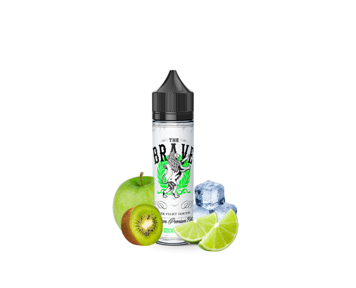 E-liquide Five Cocktails Vert The Brave | Création Vap