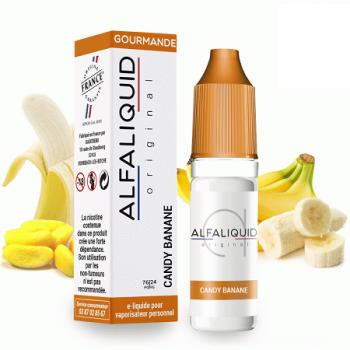 E-Liquide Candy Banane Alfaliquid 3 MG | Création Vap