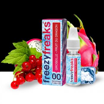 E-Liquide Groseille Fruit Du Dragon Freezy Freaks | Création Vap