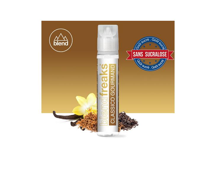 E-Liquide Classico Gourmand 50 Ml Blend Freaks   Création Vap