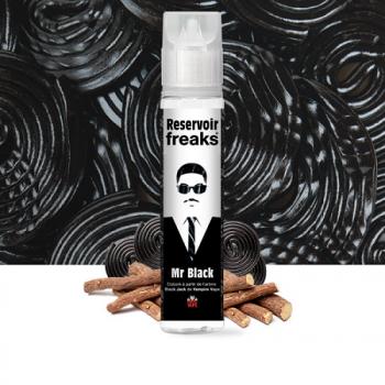 E-Liquide Mr Black 50 Ml Reservoir Freaks | Création Vap