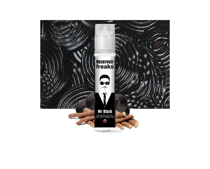E-Liquide Mr Black 50 Ml Reservoir Freaks   Création Vap