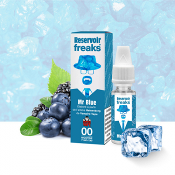 E-Liquide Mr Blue Reservoir Freaks | Création Vap