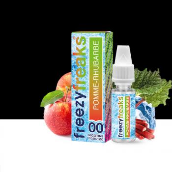 E-Liquide Pomme Rhubarbe Freezy Freaks | Création Vap
