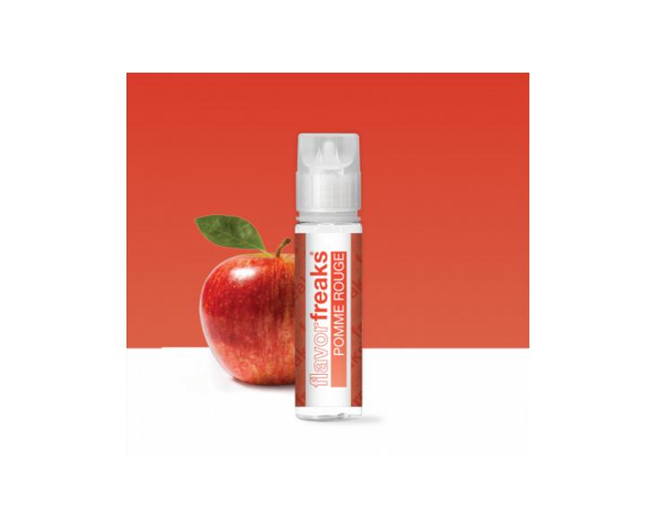 E-Liquide Pomme Rouge 50 Ml Flavor Freaks   Création Vap