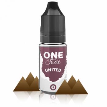 E-Liquide United One Taste 0 MG E.Tasty | Création Vap