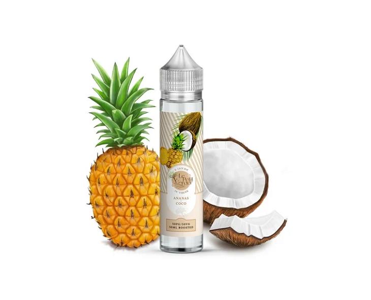 E-Liquide Ananas Coco Le Petit Verger Savourea | Création Vap