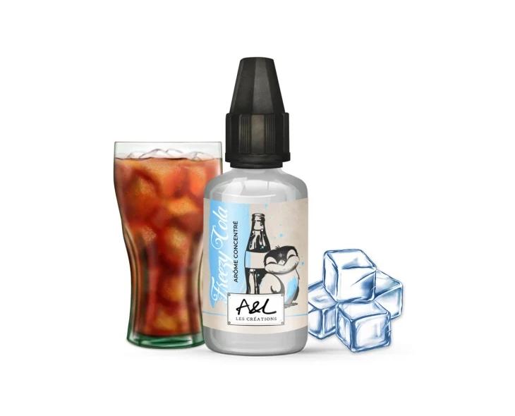 Concentré Freezy Cola Les Créations Aromes Et Liquides | Création Vap