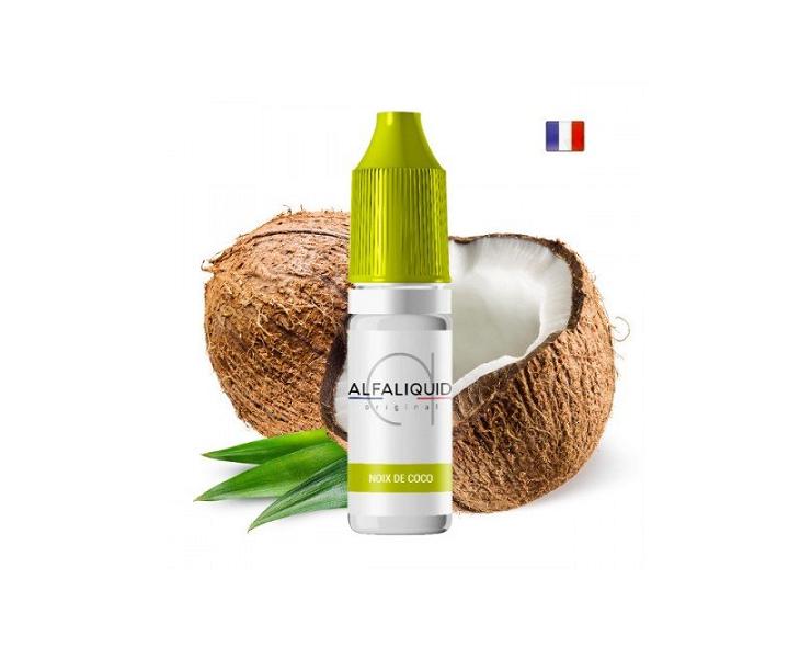 E-Liquide Noix De Coco Alfaliquid   Création Vap