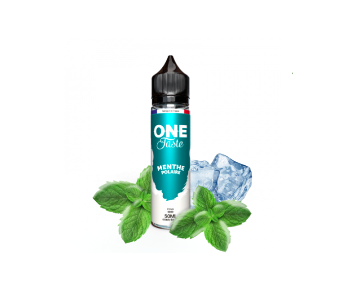 E-Liquide Menthe Polaire One Taste E.Tasty 50 Ml | Création Vap