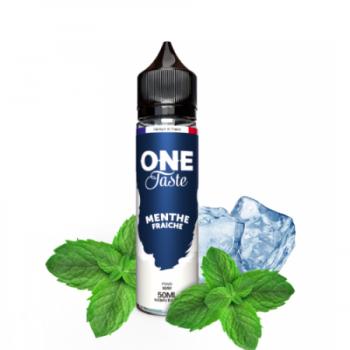 E-Liquide Menthe Fraiche One Taste E.Tasty 50 Ml | Création Vap