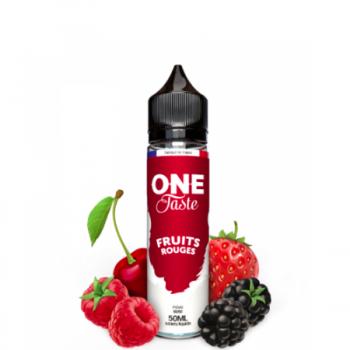 E-Liquide Fruits Rouges One Taste E.Tasty 50 ml | Création Vap