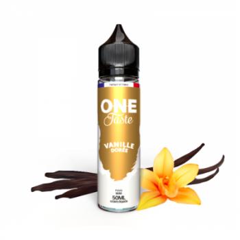 E-Liquide Vanille Dorée One Taste E.Tasty 50 Ml | Création Vap