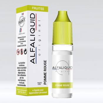 E-Liquide Pomme Rouge Alfaliquid | Création Vap
