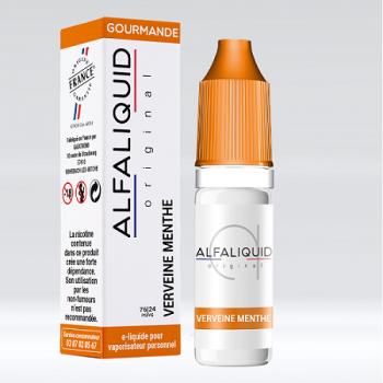 E-Liquide Verveine Menthe Alfaliquid | Création Vap