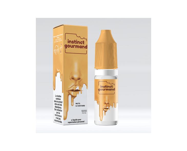 E-Liquide Nuts & Custard Instinct Gourmand Alfaliquid   Création Vap