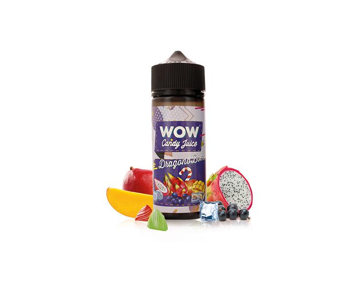 E-Liquide Dragonobomb Wow Candy Juice   Création Vap