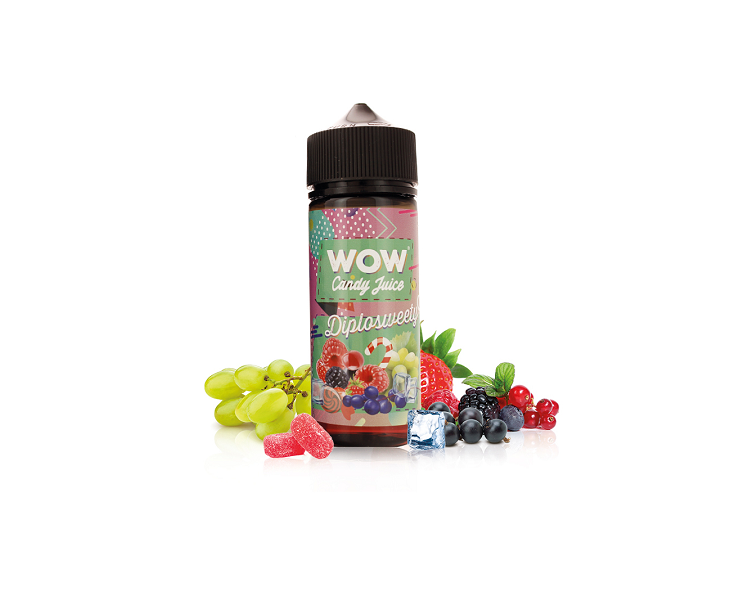 E-Liquide Diplosweety Wow Candy Juice | Création Vap