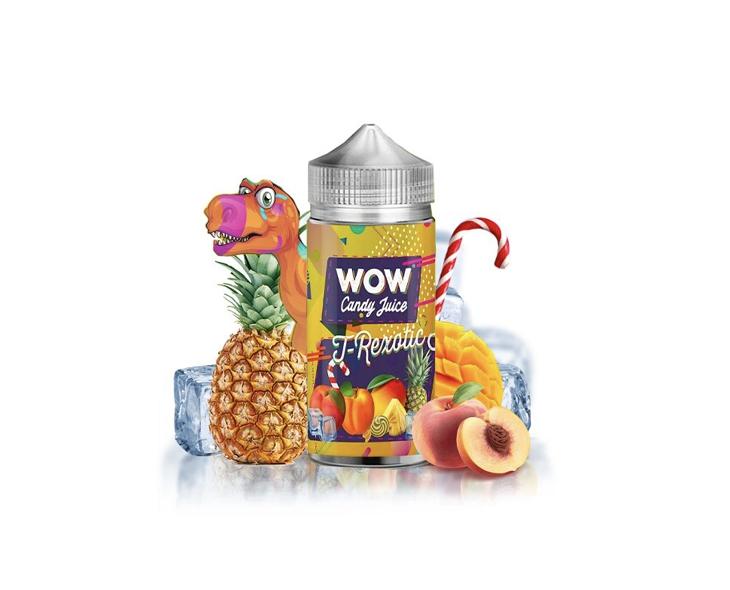 E-Liquide T-Rexotic Wow Candy Juice | Création Vap