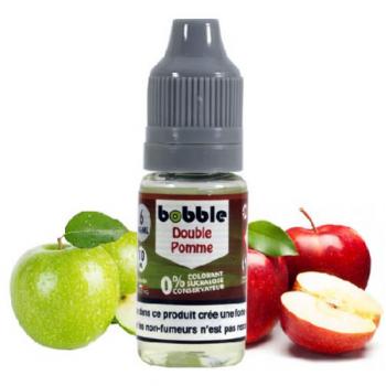 E-Liquide Double Pomme Bobble 10 Ml | Création Vap