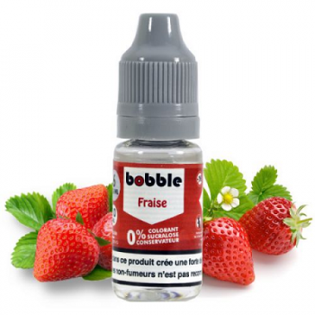E-Liquide Fraise Bobble 10 Ml   Création Vap