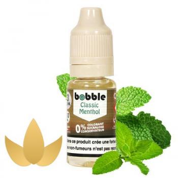 E-Liquide Classic Menthol 10 Ml Bobble | Création Vap