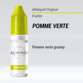 E-liquide Pomme Verte Alfaliquid | Création Vap