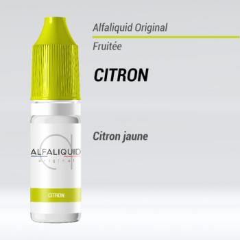 E-liquide Citron Alfaliquid | Création Vap