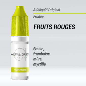 e liquide fruité fruits rouges Alfaliquid
