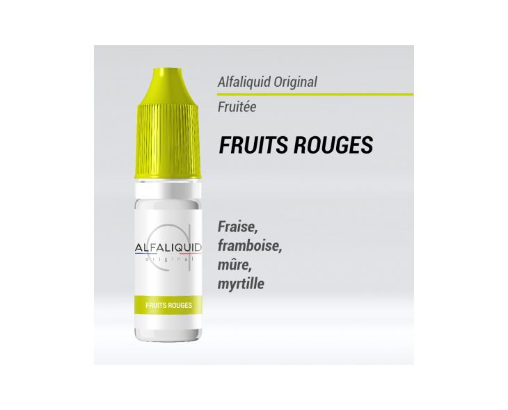 E-liquide Fruits rouges Alfaliquid | Création Vap