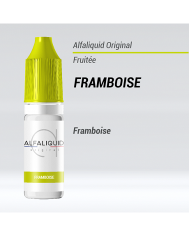 e liquide fruité framboise Alfaliquid