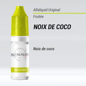E-liquide Noix de coco Alfaliquid | Création Vap