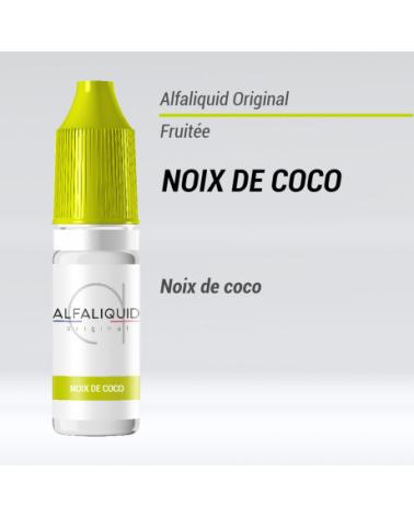 e-liquide fruité noix de coco Alfaliquid