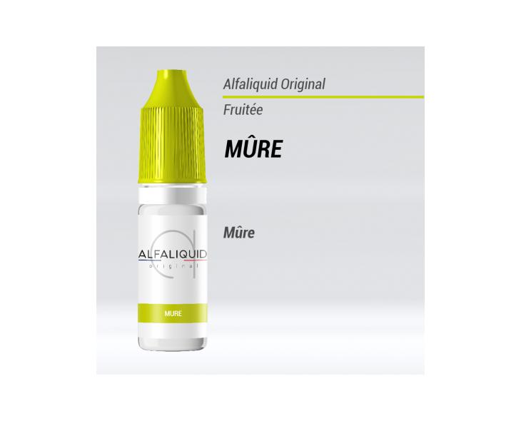 e-liquide mûre fruité Alfaliquid