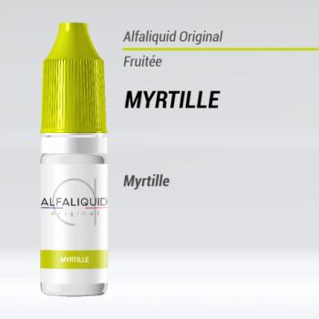 E-liquide Myrtille Alfaliquid | Création Vap