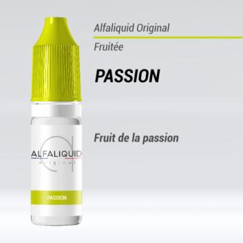 e-liquide fruité passion Alfaliquid