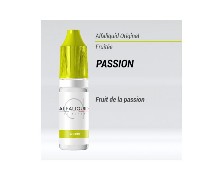 E-liquide Passion Alfaliquid | Création Vap