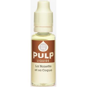 Eliquide La Noisette et sa coque de chez Pulp